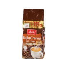 MELITTA Bellacrema Bella Crema La Crema zrnková káva 100% ARABICA 1 kg