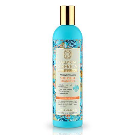 Natura Siberica Rakytníkový šampon pro normální a suché vlasy 400 ml
