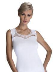 Eldar Bílá dámská košilka Eldar Porta Plus 2XL-3XL