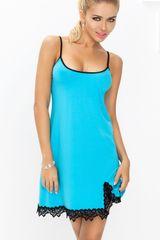 DKaren Dámská košilka Emma turquoise