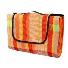Calter Relax odeja za piknik, 150 x 130 cm, oranžna