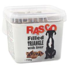 RASCO Pochoutka plněné trojúhelníčky s játry 750 g