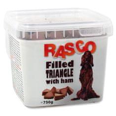RASCO Pochoutka plněné trojúhelníčky se šunkou 750 g