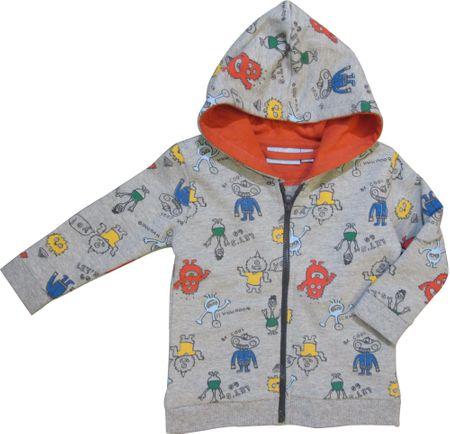 Carodel gyermek pulóver 62, szürke