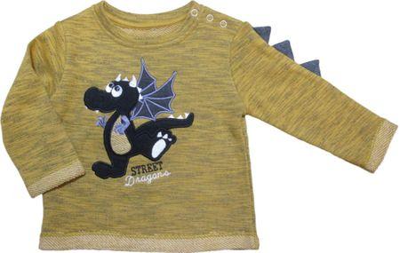 Carodel gyerek pulóver, 86, sárga