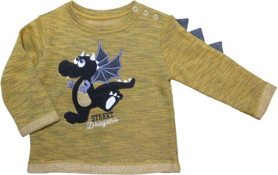 Carodel dětský svetr 62 žlutá
