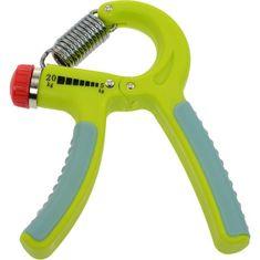 LIFEFIT utrjevalec prstov, nastavljiv, 5 - 20 kg, zelen