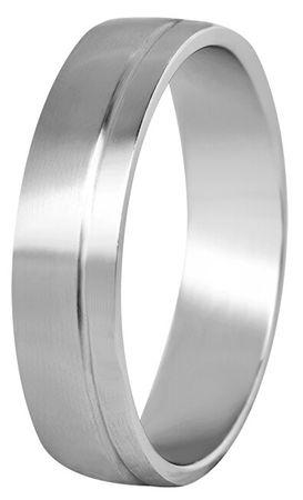 Beneto Moški poročni prstan iz jekla SPP06 (Obseg 68 mm)
