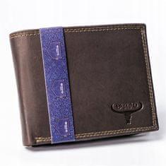 Buffalo Wild Kožená pánská peněženka Rik, hnědá