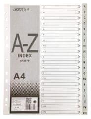 Blue Link listi, pregradni, plastificirani, A - Z (26538)