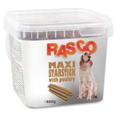 RASCO Pochoutka hvězdy natural s drůbeží 800 g