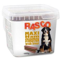 RASCO Pochoutka hvězdy šunkové s játry 800 g