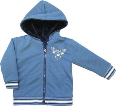 Carodel bluza chłopięca 74 niebieska