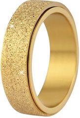 Troli Acél jegygyűrű arany / csillogó