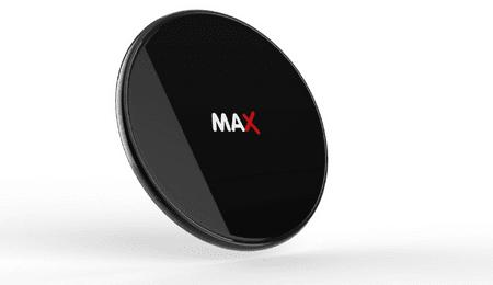 MAX Vezeték nélküli töltő 7.5W/10W/15W, fekete