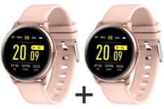 Smartomat zvýhodněný set Roundband 2 růžová + Roundband 2 růžová, chytré hodinky (smartwatch)