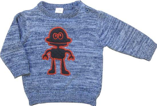 Carodel chlapecký svetr 62 modrá