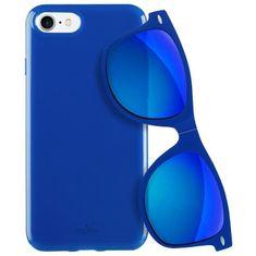 Puro Kryt PURO pro iPhone 7/8 modrý + DÁREK Slunenčí brýle