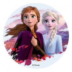 Dekora Jedlý papír Frozen 2 Anna A Elsa 20cm
