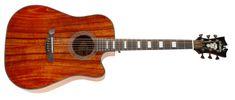 D'Angelico Premier Bowery Koa Elektroakustická kytara