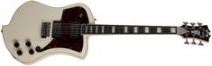 D'Angelico Premier Ludlow Trem Antique White Elektrická kytara