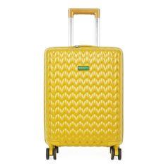 Benetton Kabinový cestovní kufr KNIT 35 l