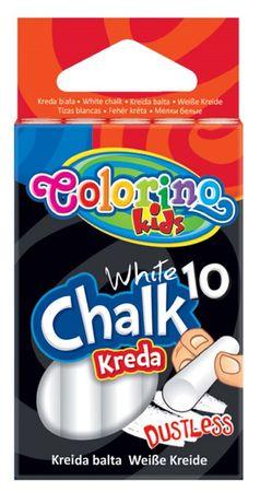Colorino kreda, bela, 10 kosov (33138PTR)