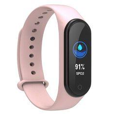 NEOGO SmartBand MS4, okoskarkötő, rózsaszín