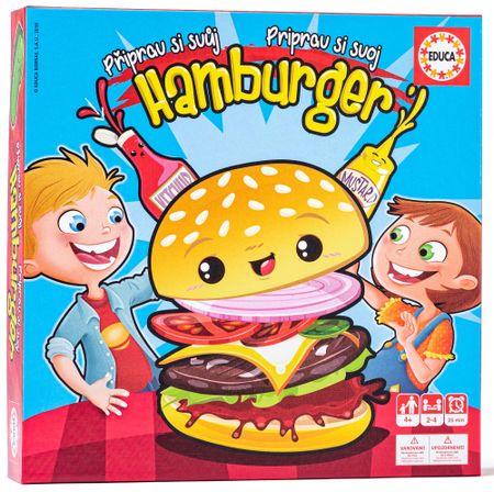 Educa Pripravi si svoj hamburger