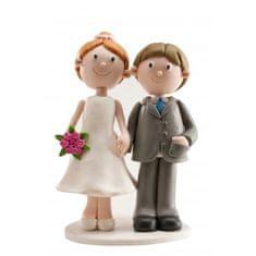 Dekora Svatební figurka na dort 13cm