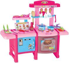 iMex Toys Kuchyňka s troubou růžová