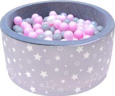 iMex Toys 2808 Suchý bazén s míčky hvězdy