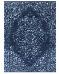 NOURISTAN Kusový koberec Lugar 104086 Midnight Blue