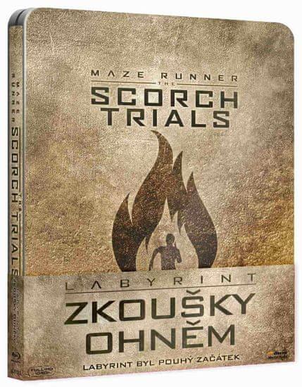 Labyrint: Zkoušky ohněm - Blu-ray Steelbook