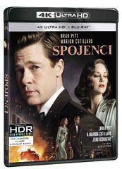 Spojenci (4K Ultra HD) - UHD Blu-ray + Blu-ray (2 BD)