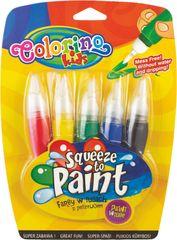 Colorino barve v čopiču, 5 kosov (66037PTR)