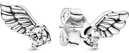 Pandora Srebrni uhani Angelska krila 298501CO1 srebro 925/1000