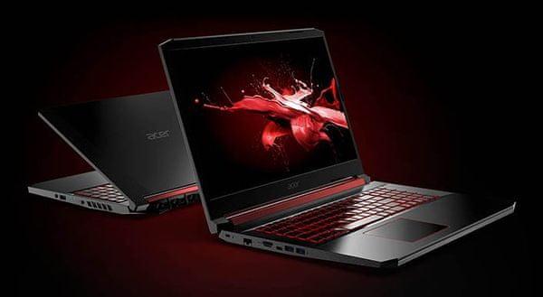 Herní notebook Acer Nitro 5 cenově dostupný dobrý výkon Full HD hraní