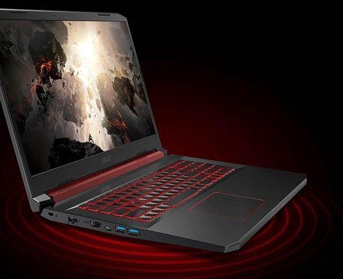 Herní notebook Acer Nitro 5 displej IPS Full HD věrné barvy vysoké rozlišení široké pozorovací úhly