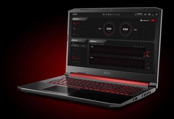 Herní notebook Acer Nitro 5 Acer TrueHarmony kvalitní zvuk