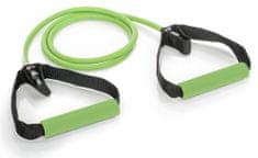 Gymstick Pro Exercise Tube elastika s ručkama, zelena, Medium