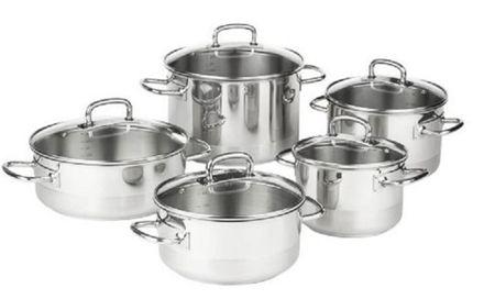 Kolimax profesjonalny zestaw naczyń kuchennych 10 elementów 160133