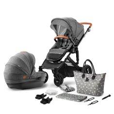 KinderKraft Stroller PRIME 2-in-1 sportska kolica s košarom