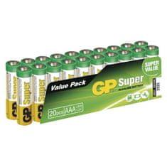 GP baterie alkaiczne AAA, 20 szt.