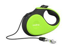 Reedog Senza Premium samonavíjecí vodítko M 20kg / 5m lanko / zelené