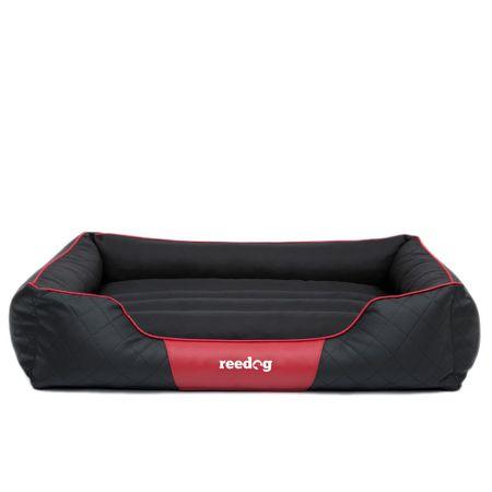 Reedog Pelíšek pro psa Reedog Black & Red Tommy - L