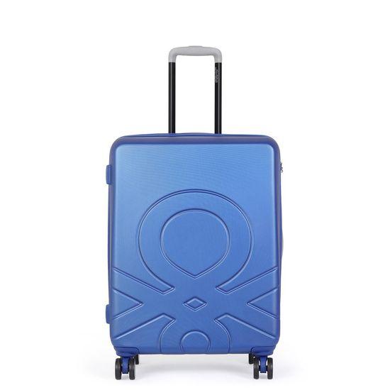 Benetton Kabinový cestovní kufr ULTRA LOGO 35 l modrá