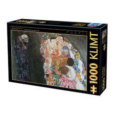 D-Toys Klimt: Smrť a život 1000 dielikov