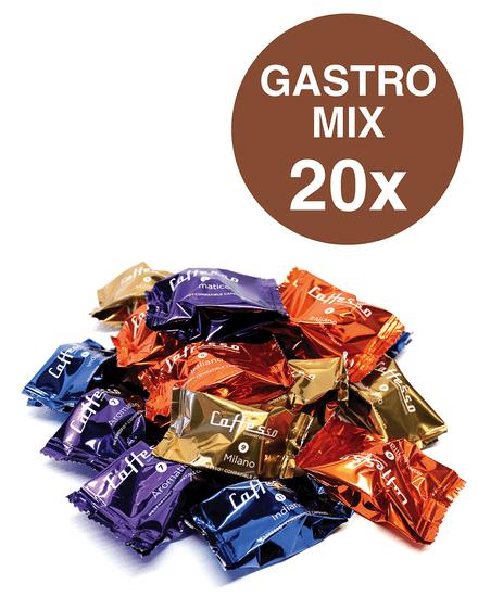 Caffesso Gastro MIX - 20 ks
