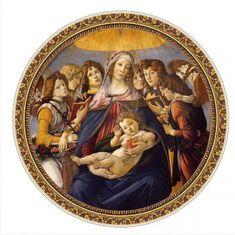 D-Toys Botticelli: Madona della Melagrana 525 dielikov